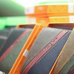 skórzane portfele